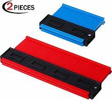 2 Pieces Plastic Contour Gauge Duplicator, 5 Inch