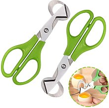 2 Pieces Quail Eggs Scissors, Egg Shell Cutting