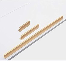2 Pieces Simple Invisible Handle Cabinet Drawer
