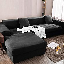 2 pieces Sofa Cover for L-Shape Sectional sofa,
