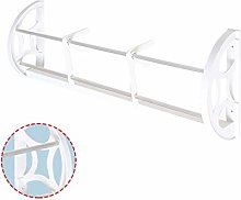 2 Pieces Wall-Mounted Shoe Rack Sticky Hanging