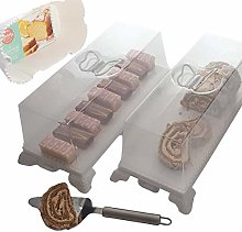 2 Rectangular Cake Stands - Cake Storage - 2 Cake