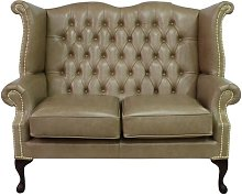 2 Seater Chesterfield Sofa Winchester Leather Ltd