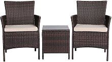 2 Seater Garden Furniture Sets Corner Patio Sofa