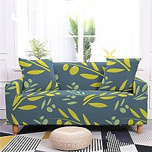 2 Seater Sofa Covers Olive Green Leaves Sofa