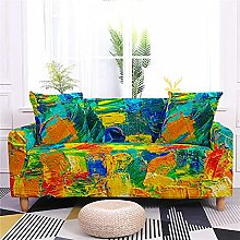 2 Seater Sofa Covers Olive Green Orange Sofa