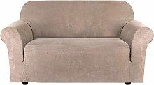 2 Seater Sofa Covers Stretch Velvet Sofa