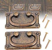 2 Set Antique Bronze Pull Knobs Cabinet Door