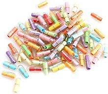 2 Set Capsule Message in Bottle, Capsule Pills
