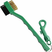 2 Sided Golf Brush Shoe Plastic Cleaning Tool Golf