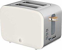 2 Slice Nordic Style Toaster White, Appliance Type