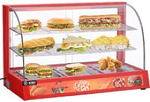 2 Tier 800W Food Showcase Commercial HotFood