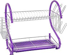 2 Tier DISH DRAINER & KITCHEN TIMER -Counter Top