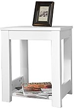 2-Tier End Table Small Sofa End Table Outdoor Side
