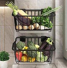 2 Tier Vegetable Fruit Rack Kitchen Table Board