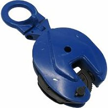 2 Ton 0-25MM Vertical Plate Lifting Clamp - 2000KG