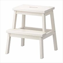 2 Tread Wooden Utility Portable Step Stool/Ladder
