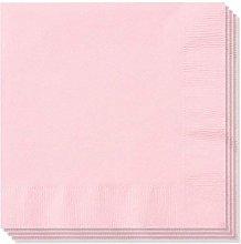 2 x 100 x 2ply Rose Pink Paper Napkins Serviettes