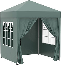 2 x 2m Garden Pop Up Gazebo Party Tent Wedding w/