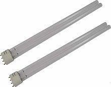 2 x 36W 36 Watt Compact Fluorescent CFL 2G11 4 Pin