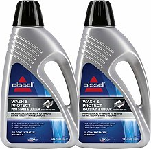 2 x Bissell Wash & Protect Pro Carpet Cleaner -
