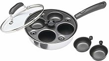 2 x Carbon Steel Non Stick Induction Safe 4-Cup