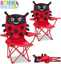 2 x Children's Camping Chair Folding Chair
