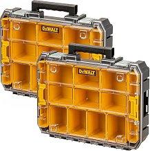 2 x Dewalt DWST82968-1 TSTAK Watersealed Stackable