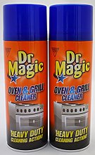 2 x Dr Magic Oven Grill & BBQ Cleaner Heavy Duty