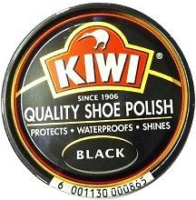 2 X Kiwi Shoe Polish Black 50ml