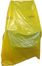 2 x Large Strong Heavy Duty Plastic Polythene