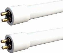 2 x Leyton 10w T4 Fluorescent Tube Warm White