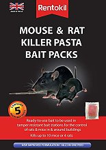 2 x Mouse&Rat Killer Pasta Bait 5 Sachet Pack New