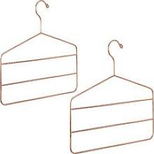 2 x Multi Hanger for Pants, Skirts & Scarves,