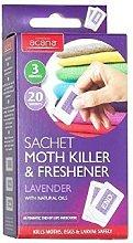 2 X Pack of 20 Acana Moth Killer & Freshener