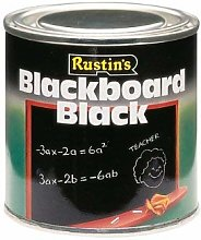 2 X Paint Quick Dry Blackboard Black 250ml