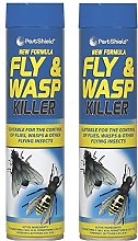 2 x Pestshield Fly & Wasp Flying Insect Killer