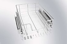 2 x Pull Out Wire Basket (2pcs) (400mm)