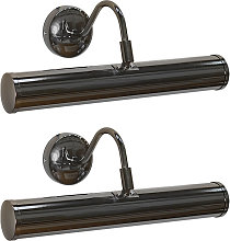 2 x Traditional Indoor Picture Wall Light Fittings