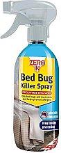 2 X Zero In Bed Bug Killer Spray (Long-lasting,