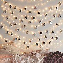20/50/100LED Photo Clip Lights, Photo Peg Fairy