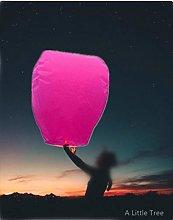 20 Fuchsia Pink - Chinese Flying Sky Lanterns (A