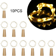 20 LED Copper Wire Fairy String Light 10 Pack Warm