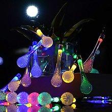 20 LED Raindrop String Fairy Lights,TriLance Color