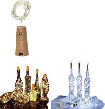 20 LED Wine Bottle Stopper Fairy String Lights