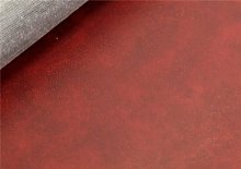 20 METRE ROLL ANTIQUE BURGUNDY FAUX LEATHER