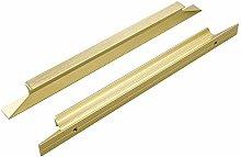 20 Pack Cupboard Handles Gold Cabinet Handles