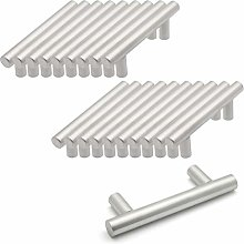 20 Pack Probrico Brushed Nickel Stainless Steel