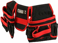 20 Pocket Heavy Duty Double Tool Belt with Quick