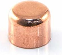 20 x Copper End Feed Stop 8mm Female Fitting